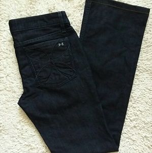 Used, Habitual Jeans Dark Wash Flare Size 29 for sale